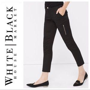 White House Black Market Black Utility Pants